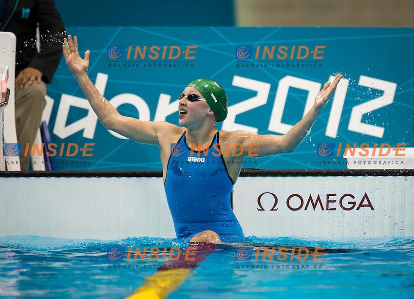 MEILUTYTE Ruta LTU.100m Breaststroke Women.Swimming finals.London 2012 Olympics - Olimpiadi Londra 2012.day 04 July 30.Photo G.Scala/Deepbluemedia.eu/Insidefoto