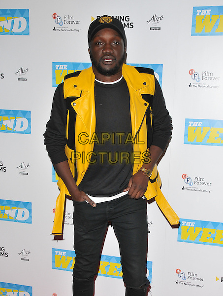 Arnold Oceng at the &quot;The Weekend&quot; UK film premiere, Vue West End cinema, Leicester Square, London, England, UK, on Monday 28 November 2016. <br /> CAP/CAN<br /> &copy;CAN/Capital Pictures