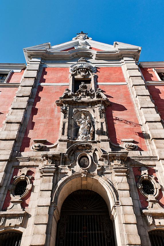 Catholic church, Madrid, Spain