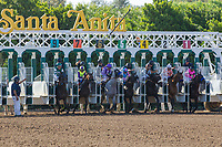 ARCADIA, CA. MAY 27: The start of The Gold Cup at Santa Anita Stakes (Grade 1) on May 27, 2017 at Santa Anita Park in Arcadia, CA. (Photo by Casey Phillips/EclipseSportswire/Getty Images)