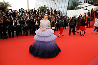 Araya Hargate attending the opening ceremony and screening of 'The Dead Don't Die' during the 72nd Cannes Film Festival at the Palais des Festivals on May 14, 2019 in Cannes, France
