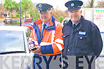 Kenmare's Traffic Warden, Harry Materson, has retired after 13 years service keeping traffic flowing freely in the town .Pictured Harry Materson with Sgt Michael O'Brien of Kenmare Garda Station