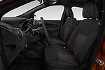 Front seat view of a 2019 Ford KA + Active 5 Door Hatchback front seat car photos