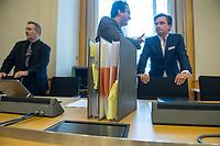 """2. Sitzungstag des Berliner """"Amri-Untersuchungsausschuss"""".<br /> Am Freitag den 8. September 2017 fand die 2. Sitzung des sogenannte """"Amri-Untersuchungsausschuss des Berliner Abgeordnetenhaus. Statt. Der 1. Untersuchungsausschuss der 18. Wahlperiode will versuchen die diversen Unklarheiten im Fall des Weihnachtsmarkt-Attentaeters zu aufzuklaeren.<br /> Im Bild: Die Vertreter der FDP. Rechts: Marcel Luthe, Obmann und Sprecher der FDP im Ausschuss.<br /> 8.9.2017, Berlin<br /> Copyright: Christian-Ditsch.de<br /> [Inhaltsveraendernde Manipulation des Fotos nur nach ausdruecklicher Genehmigung des Fotografen. Vereinbarungen ueber Abtretung von Persoenlichkeitsrechten/Model Release der abgebildeten Person/Personen liegen nicht vor. NO MODEL RELEASE! Nur fuer Redaktionelle Zwecke. Don't publish without copyright Christian-Ditsch.de, Veroeffentlichung nur mit Fotografennennung, sowie gegen Honorar, MwSt. und Beleg. Konto: I N G - D i B a, IBAN DE58500105175400192269, BIC INGDDEFFXXX, Kontakt: post@christian-ditsch.de<br /> Bei der Bearbeitung der Dateiinformationen darf die Urheberkennzeichnung in den EXIF- und  IPTC-Daten nicht entfernt werden, diese sind in digitalen Medien nach §95c UrhG rechtlich geschuetzt. Der Urhebervermerk wird gemaess §13 UrhG verlangt.]"""