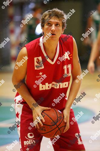 2009-08-28 / Basketbal / seizoen 2009-2010 / Antwerp Giants 2 / Mark De Meyer ..foto: mpics