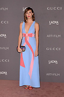 LOS ANGELES, CA - NOVEMBER 04: Gia Coppola at the 2017 LACMA Art + Film Gala Honoring Mark Bradford And George Lucas at LACMA on November 4, 2017 in Los Angeles, California. Credit: David Edwards/MediaPunch /NortePhoto.com