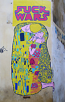 Street Art, Prague, Czech Republic on February 28th to March 3rd 2018<br /> CAP/ROS<br /> &copy;ROS/Capital Pictures