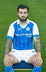 St Johnstone FC Season 2017-18 Photocall<br />Richie Foster<br />Picture by Graeme Hart.<br />Copyright Perthshire Picture Agency<br />Tel: 01738 623350  Mobile: 07990 594431