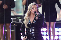 Kelly Clarkson<br /> performing on NBC ''Today Show'' at <br /> Rockefeller Plaza  6-8-2018<br /> Photo By Maggie Wilson/PHOTOlink.net<br /> 917-754-8588