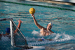 LOS ANGELES, CA - DECEMBER 03:  Marin Dasic (4) of the University of Southern California shoots the ball during the Division I Men's Water Polo Championship held at the Uytengsu Aquatics Center on the University of Southern California campus on December 3, 2017 in Los Angeles, California. UCLA defeated USC 5-7 to win the National Championship. (Photo by Justin Tafoya/NCAA Photos via Getty Images)