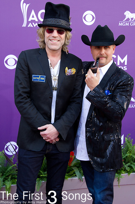 Big Kenny and John Rich of Big & Rich attend the 48th Annual Academy of Country Music Awards in Las Vegas, Nevada on April 7, 2012.