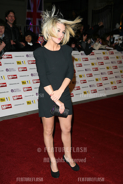 Sheridan Smith arriving for the 2010 Pride Of Britain Awards, at the Grosvenor House Hotel, London. 08/11/2010  Picture by: Alexandra Glen / Featureflash