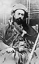 Iraq 1928?.Sheikh Mahmoud  in the mountains of Kurdistan  .Irak 1928?  .Sheikh Mahmoud dans les montagnes du Kurdistan