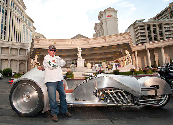 LAS VEGAS, NV - June 29: William Shatner stops at Caesars Palace to showcase the creation of Rivet by American Wrench at Caesars Palace in Las Vegas, NV on June 30, 2015. Credit: Erik Kabik Photography/ MediaPunch ***HOUSE COVERAGE***