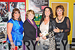 TRACK TIME: The Churchill ladies coach enjoying the Spa NS and Churchill GAA Night at the Dogs at the Kingdom Greyhound Stadium on Saturday l-r: Sandra Leahy, Veronica Kelly, Carol Benner and Sheila Marie Fitzgerald...
