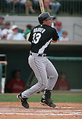 Paul Hoover of the Florida Marlins vs. the Houston Astros March 15th, 2007 at Osceola County Stadium in Kissimmee, FL during Spring Training action.  Photo copyright Mike Janes Photography 2007.