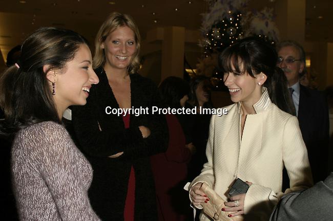 Vanessa Lengies &amp; Jennifer Love Hewitt<br />ARIEL'S HEART OF HOPE <br />Neiman Marcus<br />Beverly Hills, CA, USA<br />Wednesday, December 10, 2003   <br />Photo By Celebrityvibe.com/Photovibe.com