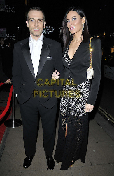 LONDON, ENGLAND - NOVEMBER 27: Will Stoppard &amp; Linzi Stoppard attend the &quot;Mikhail Baryshnikov: Dancing Away&quot; photography collection private view, Contini Art UK, New Bond St., on Thursday November 27, 2014 in London, England, UK. <br /> CAP/CAN<br /> &copy;Can Nguyen/Capital Pictures