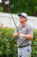 Charley Hoffman (USA) watches his tee shot on 15 during round 4 of the Dean &amp; Deluca Invitational, at The Colonial, Ft. Worth, Texas, USA. 5/28/2017.<br /> Picture: Golffile | Ken Murray<br /> <br /> <br /> All photo usage must carry mandatory copyright credit (&copy; Golffile | Ken Murray)