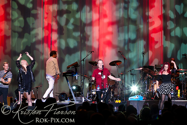 The B-52's perform at Bank of America Pavilion June 23, 2013