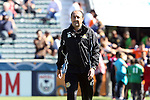09 October 2016: Fort Lauderdale assistant coach Ricardo Lopes (BRA). The Carolina RailHawks hosted the Fort Lauderdale Strikers at WakeMed Soccer Park in Cary, North Carolina in a 2016 North American Soccer League Fall Season match. Carolina won the game 3-0.