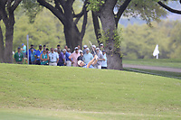 Ryan Moore (USA) on the 1st during the 1st round at the WGC Dell Technologies Matchplay championship, Austin Country Club, Austin, Texas, USA. 22/03/2017.<br /> Picture: Golffile | Fran Caffrey<br /> <br /> <br /> All photo usage must carry mandatory copyright credit (&copy; Golffile | Fran Caffrey)
