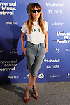 Spanish actress Antonia San Juan during the photocall of Jamie Cullum's concert in the Universal Music Festival 2019. July 22, 2019. (ALTERPHOTOS/Acero)