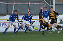 04/12/2010   Copyright  Pic : James Stewart.sct_jsp014_allao_v_peterhead  .:: STUART NOBLE SCORES ALLO'S FIRST ::.James Stewart Photography 19 Carronlea Drive, Falkirk. FK2 8DN      Vat Reg No. 607 6932 25.Telephone      : +44 (0)1324 570291 .Mobile              : +44 (0)7721 416997.E-mail  :  jim@jspa.co.uk.If you require further information then contact Jim Stewart on any of the numbers above.........