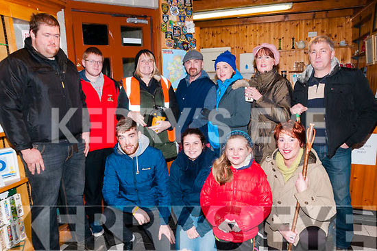 Tarbert Fright Nite: Taking part in the Tarbert Fright Nite on Saturday night last were in front Shane Crmody, Anne Walsh, Niamh Enright & Marie Moore Walsh. Back: Henry Prendiville, Jason Walsh, Ann White, Kieth Walsh, Marie McNamara, Ann Sheehy & Tom Enright.