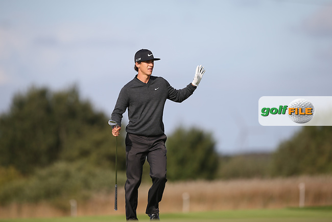 Thorbjorn Olesen (DEN) during Round Two of the Made in Denmark 2014 Pro-Am from the Himmerland Golf & Spa Resort, Aalborg, Denmark. Picture:  David Lloyd / www.golffile.ie