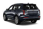 Car pictures of rear three quarter view of a 2020 Cadillac XT6 Sport 5 Door SUV angular rear