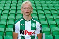 GRONINGEN - Voetbal, Presentatie FC Groningen o23, seizoen 2017-2018, 11-09-2017,   FC Groningen speler Kolbeinn Finnsson