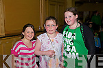 Pictured at the Global Party at the Brandon Hotel on Saint Patricks Day were Shaniece, Shemeka and Courtney Coffey
