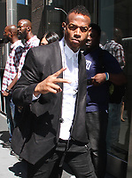 NEW YORK, NY - AUGUST 9: Marlon Wayans spotted arriving at SiriusXM studios in New York, New York on August 9, 2017.  <br /> CAP/MPI/RMP<br /> &copy;RMP/MPI/Capital Pictures