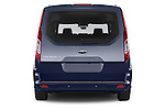 Straight rear view of a 2015 Ford Grand Tourneo Connect Titanium 5 Door Minimpv Rear View  stock images