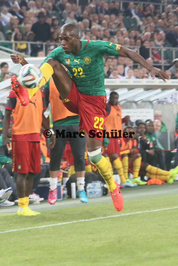Allan Nyom (CAM) - Deutschland vs. Kamerun, Mönchengladbach