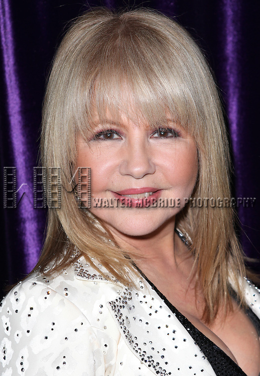 Pia Zadora Backstage at before her Opening Night engagement 'Pia Zadora - Back Again and Standing Tall' at  The Metropolitan Room in New York City on 2/7/2013
