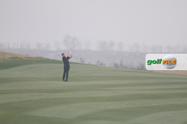 Soren Hansen (DEN) on the 4th on Day 1 of the 2012 Volvo China Open at Binhai Lake Golf Club, Tianjin, China...(Photo Jenny Matthews/www.golffile.ie)