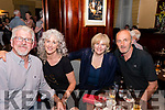 Seen at the Callinafercy Rowing Club Fundraising Dance in The Manor Inn Killorglin on Friday Evening<br /> L-R Roy Thorpe, Breda Tagney, Phil Tagney, Sean Tagney.