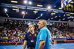Erfolgstrainer der LOEWEN - Nikolaj JACOBSEN (Trainer Rhein-Neckar Loewen) \  beim Spiel in der Handball Bundesliga, SG BBM Bietigheim - Rhein Neckar Loewen.<br /> <br /> Foto &copy; PIX-Sportfotos *** Foto ist honorarpflichtig! *** Auf Anfrage in hoeherer Qualitaet/Aufloesung. Belegexemplar erbeten. Veroeffentlichung ausschliesslich fuer journalistisch-publizistische Zwecke. For editorial use only.