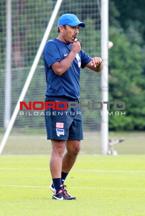 13.08.2013, Sportpark, Berlin, GER, 1.FBL, Hertha BSC , Training, im Bild Cheftrainer (Head Coach) Jos Luhukay (Hertha BSC Berlin)<br /> <br /> <br /> Foto &copy; nph / Schulz