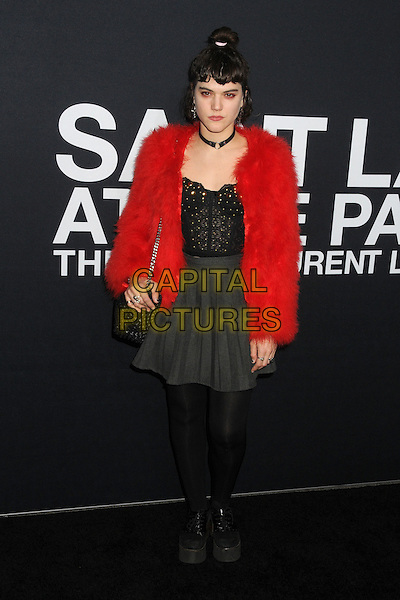 10 February 2016 - Los Angeles, California - SoKo, Stephanie Sokolinski. Saint Laurent At The Palladium held at the Hollywood Palladium. <br /> CAP/ADM/BP<br /> &copy;BP/ADM/Capital Pictures