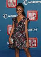 05 November 2018 - Hollywood, California - Skai Jackson &quot;Ralph Breaks The Internet&quot; Los Angeles Premiere held at El Capitan Theater. <br /> <br /> CAP/ADM/FS<br /> &copy;FS/ADM/Capital Pictures