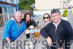 Paul Kiely, Rose Ryan, Georgina Croke and Tom Kelly (Inch) at the Tom Crean Festival in Annascaul.