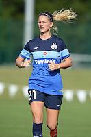 Kansas City, MO - Saturday June 25, 2016:  Katie Bowen during a regular season National Women's Soccer League (NWSL) match at Swope Soccer Village.