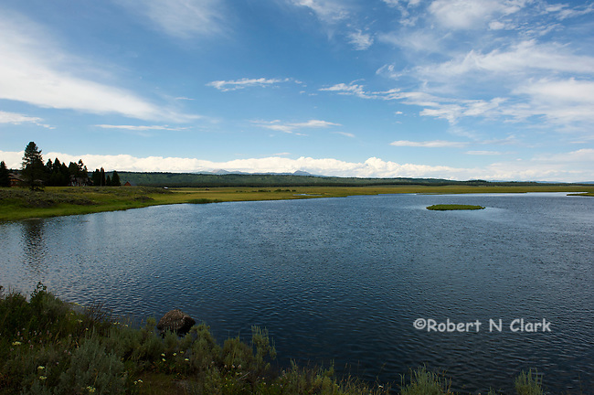 Henry's Fork of the Snake River near Last Chance, Idaho