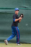 18 August 2010: Andy Pitcher of Team France is seen prior to the France 7-3 win over Ukraine, at the 2010 European Championship, under 21, in Brno, Czech Republic.