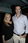 Terri Conn & Austin Peck - Weight: The Series held its premiere party on October 8, 2014 at Galway Pub, New York City, New York. (Photo by Sue Coflin/Max Photos)