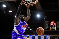 Saints&rsquo; Majok Majok in action during the NBL - Cigna Saints v Hawkes Bay Hawks at TSB Arena, Wellington, New Zealand on Sunday 27 May 2018.<br /> Photo by Masanori Udagawa. <br /> www.photowellington.photoshelter.com
