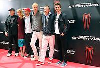 Avi Arad, Emma Stone, Matt Tolmach, Rhys Ifans, Marc Webb, Andrew Garfield - The Amazing Spider-Man - photocall in Madrid NORTEPHOTO.COM<br /> **SOLO*VENTA*EN*MEXICO**<br /> **CREDITO*OBLIGATORIO** <br /> *No*Venta*A*Terceros*